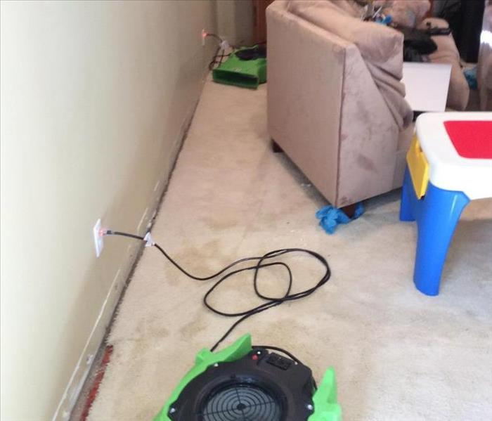 Water Damage in Chardon Home