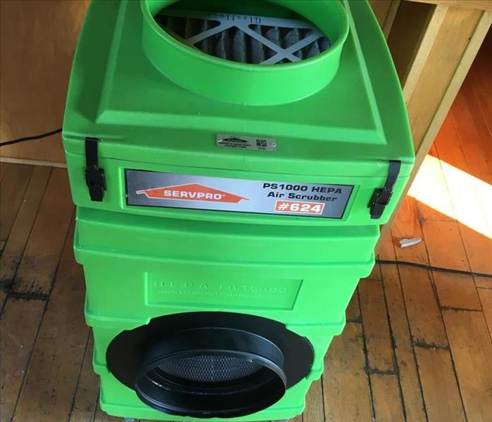 SERVPRO of Geauga County Air Scrubber