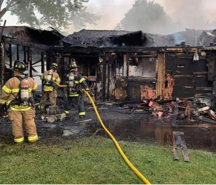 Devastating house fire in Bedford Hts, Ohio