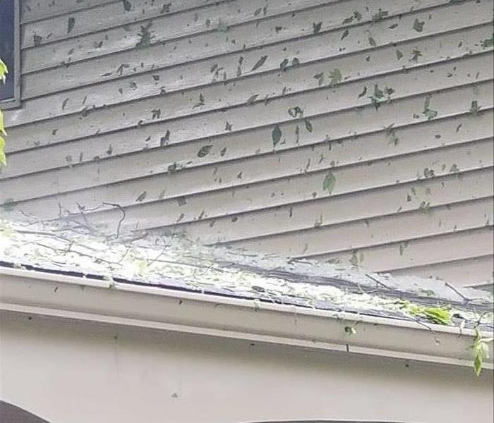 Wind Damage to Auburn Home